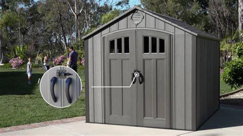 lifelong sheds new lifetime 8 x 10 storage shed cut version