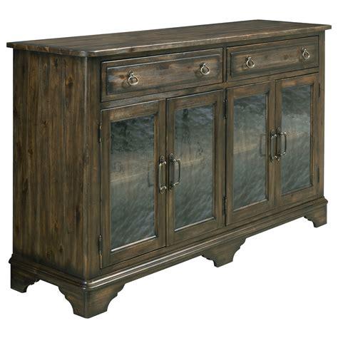 Kincaid Furniture Wildfire 86 090 Seed Glass Sideboard