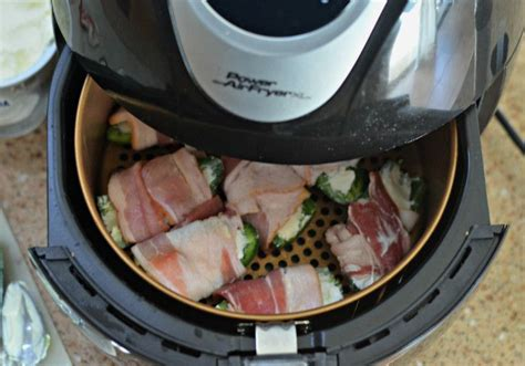 keto jalapeno poppers air hip2save bacon wrapped fryer recipes