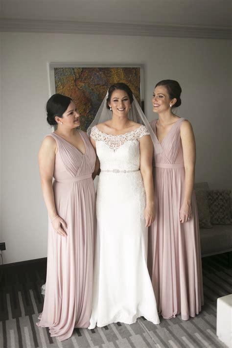 dusty rose bridesmaid dresses  australia sydney