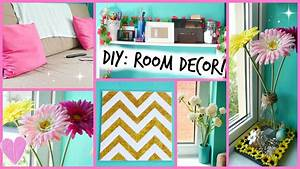 Diy easy room decor ideas youtube for Simple room decoration ideas for t