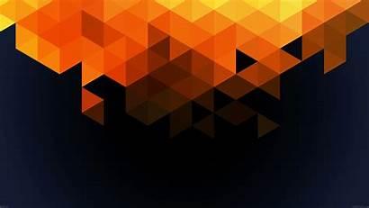 Orange Pattern Triangle 4k Wallpapers Fall Desktop