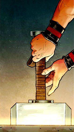 Mjolnir By Esad Ribic Marvel Comics Pinterest Thors