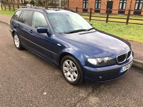 Bmw 3 Series 2004 by Bmw 3 Series 320d Se Touring 2004 Estate Diesel 2 0 Litre
