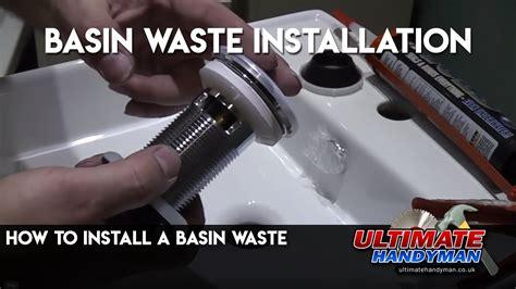 install  basin waste youtube