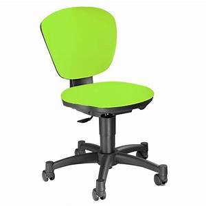 Chaise Enfant Pas Cher : chaise de bureau enfant chaise de bureau verte pas cher comforium ~ Teatrodelosmanantiales.com Idées de Décoration