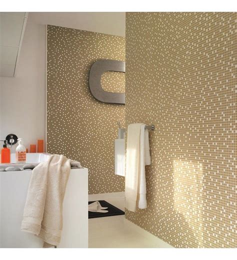 Gold & Cream, Washable, Solid Vinyl Wallpaper, Suitable