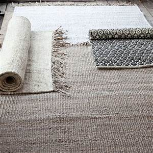 Tapis De Chanvre : tell me more tapis chanvre tie mix blanc creme gris 170x240 tell me more petite lily ~ Dode.kayakingforconservation.com Idées de Décoration