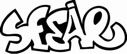 Graffiti Zum Ausmalbilder Coloring Sesar Kostenlos Desenhos