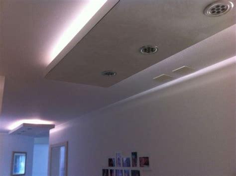 velette luminose  cartongesso clever house brescia