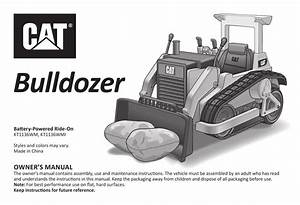 Caterpillar Bulldozer Toy 12 Volt