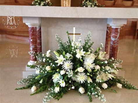 church arrangement floral arrangements church flower
