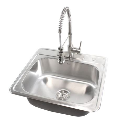 25 Inch Kitchen Sink by 25 Inch Top Mount Drop In Stainless Steel Kitchen Island