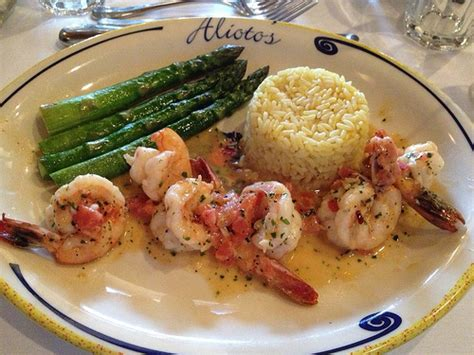 ca cuisine alioto 39 s sautéed prawns food shrimp sanfrancisco