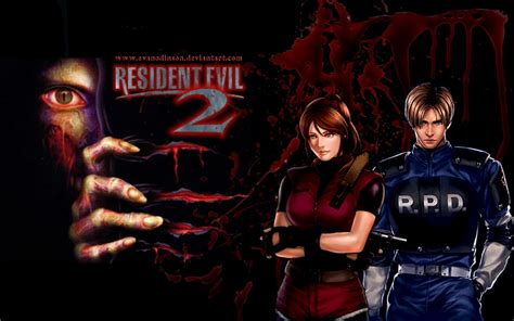 Resident Evil 2 Claire And Leon By Evanodinson On Deviantart