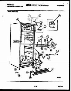 Cabinet Parts Diagram  U0026 Parts List For Model Fpif117be Frigidaire