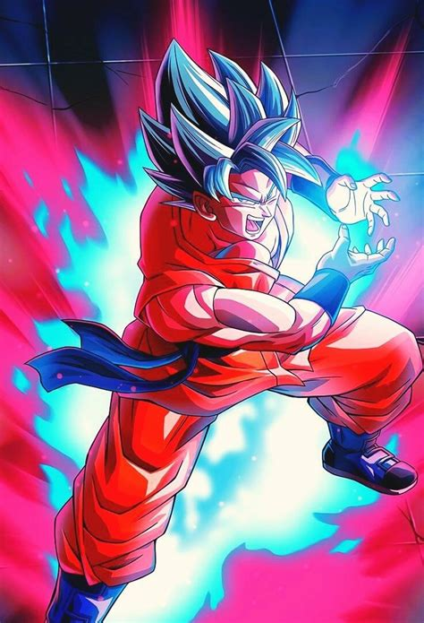 ssj blue kaioken dragon ball super manga anime dragon