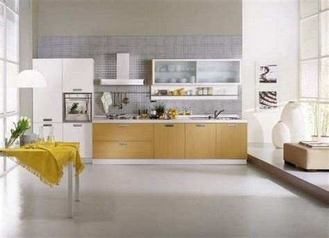 cocina  piso de microcemento casa web