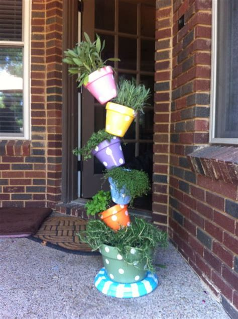 my diy for a tipsy plant tower