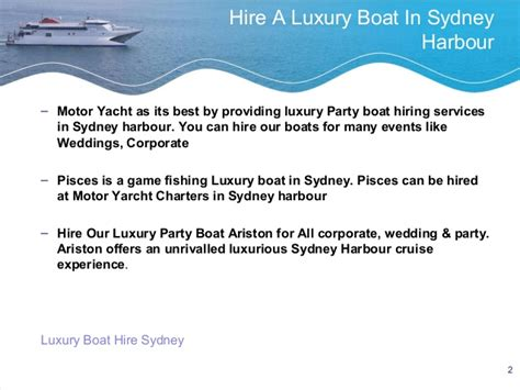 Small Fishing Boat Hire Sydney by How To Hire Boat In Sydney Harbour