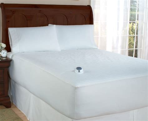 heated mattress pad king fit industries softheat low voltage heated