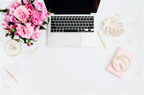 Office Desk Flowers by Free Premium Stock Photos Canva
