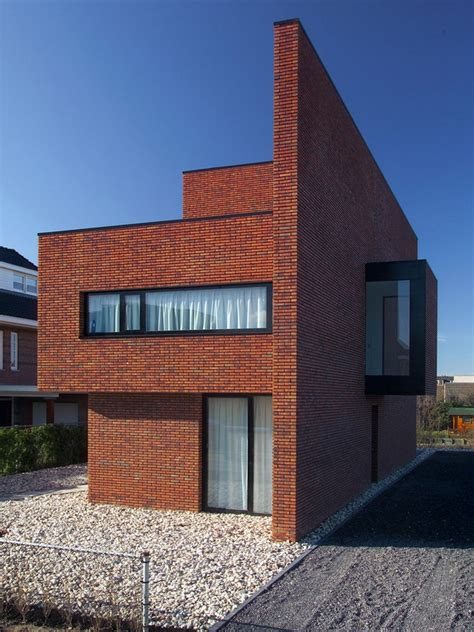 brick wall house woerden residence  architect