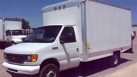 stock   ford  box truck  sale youtube