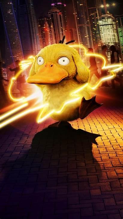 Pikachu Detective Pokemon Phone Wallpapers Duck Koda
