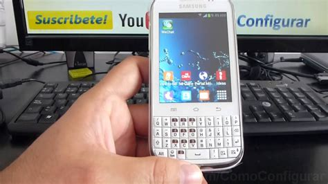 aspectos basicos samsung galaxy chat b5330 espa 241 ol hd youtube