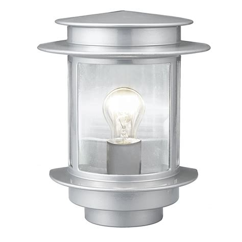 exit 1 80761 1 light wall light in silver