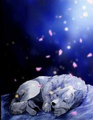 Beautiful Anime Wolf Love