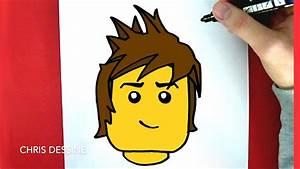 Dessin Citrouille Facile : dessin facile comment dessiner kai de ninjago chris dessine youtube ~ Melissatoandfro.com Idées de Décoration