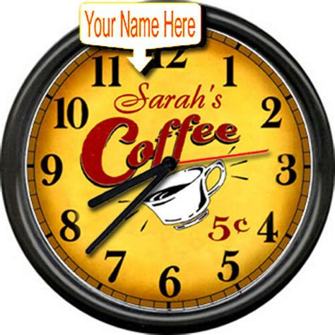 personalized java espresso retro vintage art coffee shop