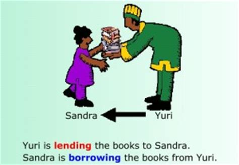 Difference Between Borrow And Lend  Difference Between  Borrow Vs Lend