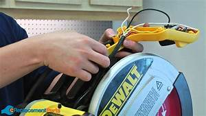 How To Replace The Cord On A Dewalt Dw708 Miter Saw