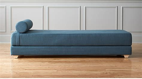 Daybed Sleeper Sofa by Lubi Blue Daybed Sleeper Cb2