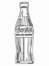 Cola Coca Bottle Coloring Flesje Colorear Coke Botella Colouring Kleurplaten Kleurplaat Drinken Eten Leukekleurplaten Butelka Coli Coloringpage 1001coloring Drinks Kolorowanka sketch template