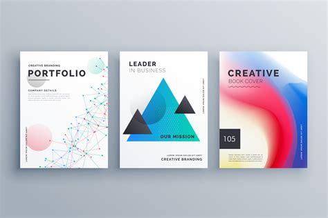 creative brochure design teample set   size