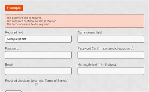 Javascript Form Validation Script by Javascript File Size Validation Huntershelper