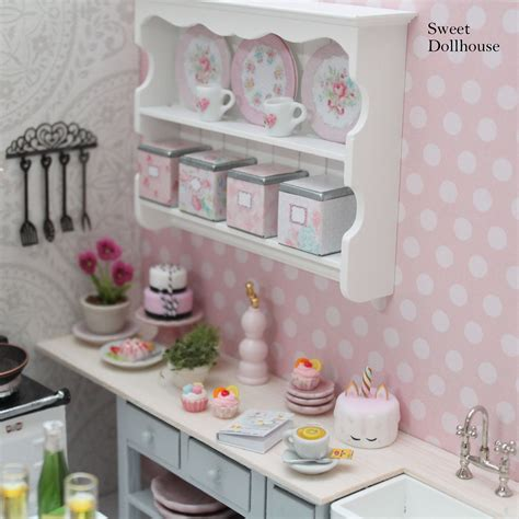 miniature kitchen sweet dollhouse doll house miniature kitchen dolls house interiors