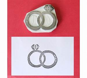 rings stamp wedding rubber stamp ring rubber stamp With wedding ring stamps