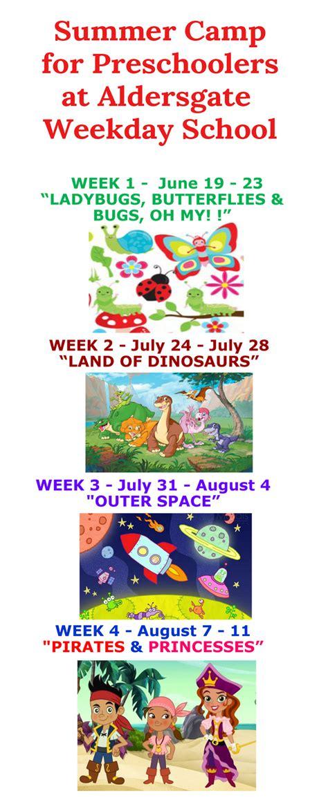 summer programs for preschoolers aldersgate weekday 859 | summer camp preschool 2017