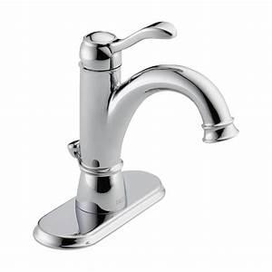 Delta, Haywood, Single, Hole, Single-handle, Bathroom, Faucet, In, Chrome-15999-dst
