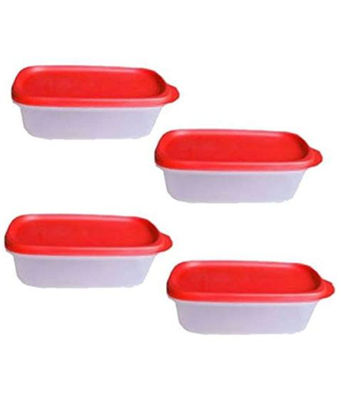 Smart Saver With Free tupperware plastic smart saver container set 500ml 4
