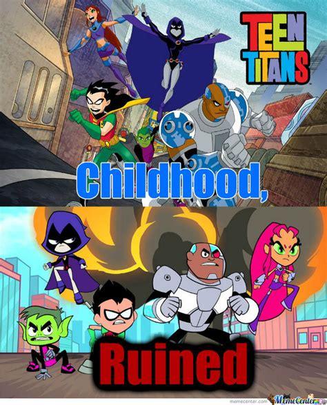 Teen Titans Memes - teen titans by simeon777 meme center
