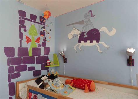 chambre chevalier decoration chambre garcon chevalier