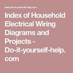 25  Best Ideas About Electrical Wiring On Pinterest