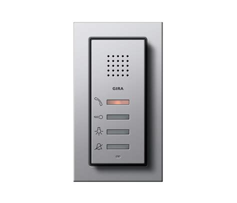 gira ap home station ap e22 intercoms interior from gira architonic