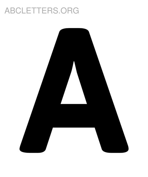 big abc letters  print abc letters org